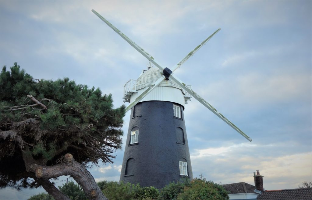 Coastal Road Trip, Mundesley, Stow Mill, Windmill