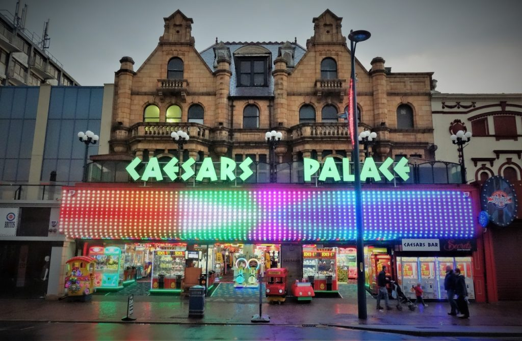 Coastal Road Trip, Great Yarmouth, Caesars Palace