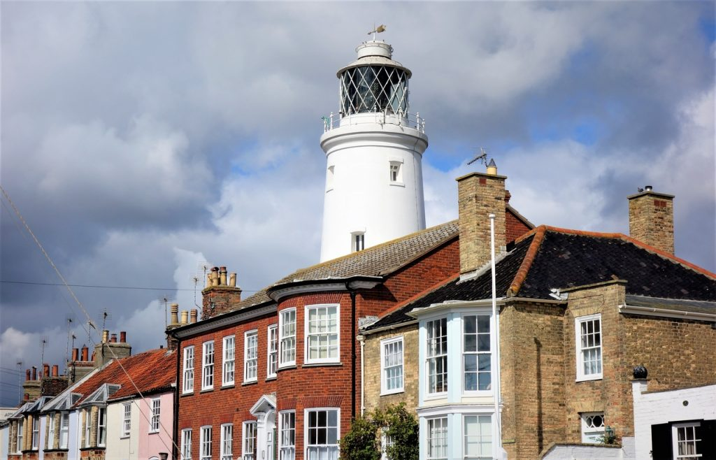 Coastal Road Trip, Southwold, Lighthouse, Waveney, Suffolk