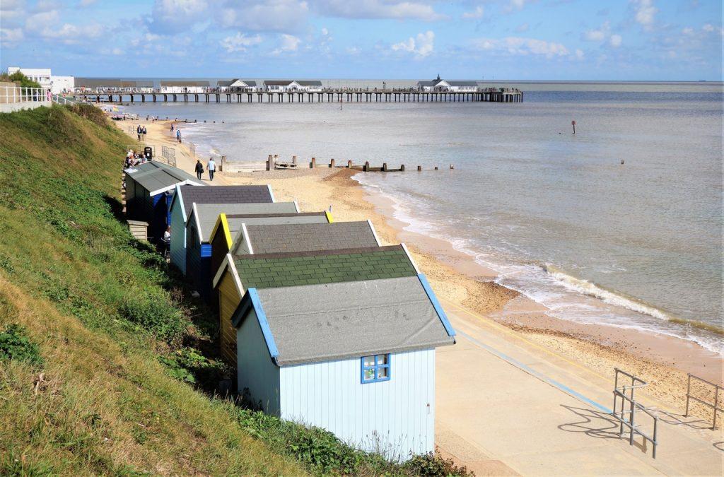 Coastal Road Trip, Southwold, Pier, Beach, Huts, Waveney, Suffolk