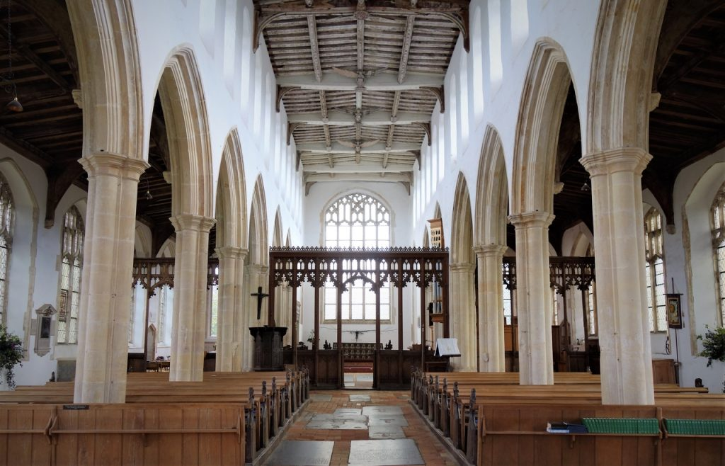 Coastal Road Trip, Blythburgh, Holy Trinity Church, Suffolk, Diocese of St Edmundsbury and Ipswich, Nave, Interior