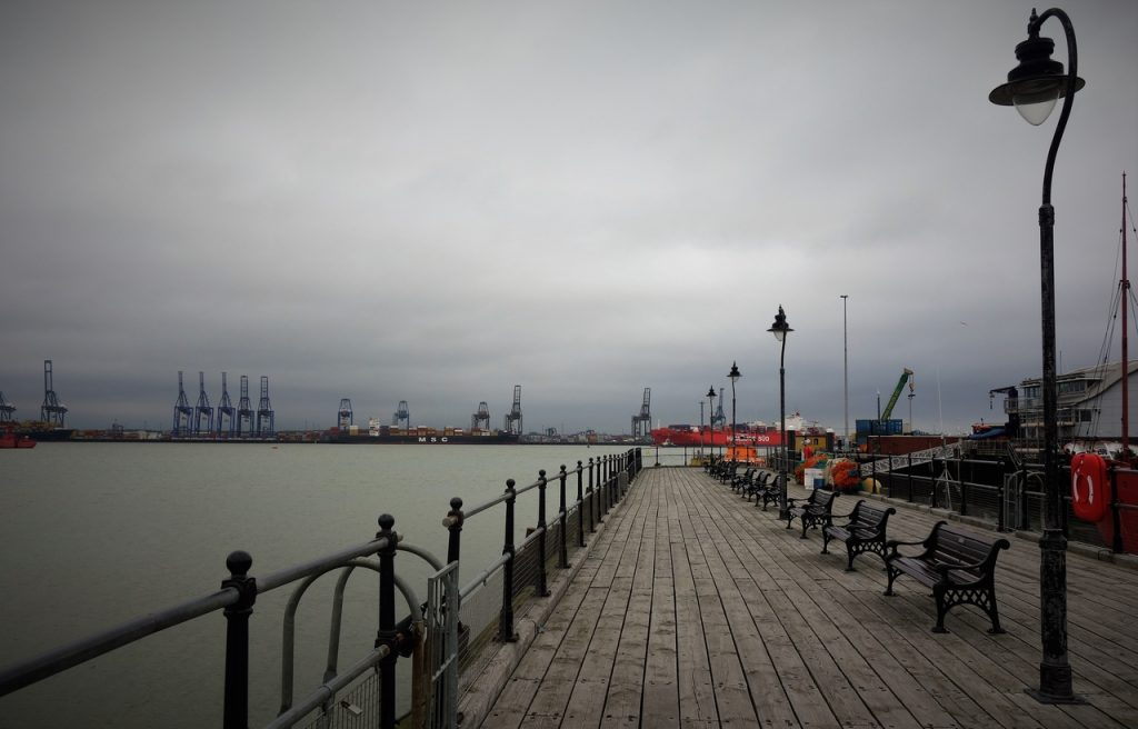 Coastal Road Trip, Harwich, Ha'penny Pier