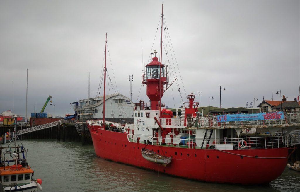 Coastal Road Trip, Harwich, Lightvessel LV18, Ha'penny Pier