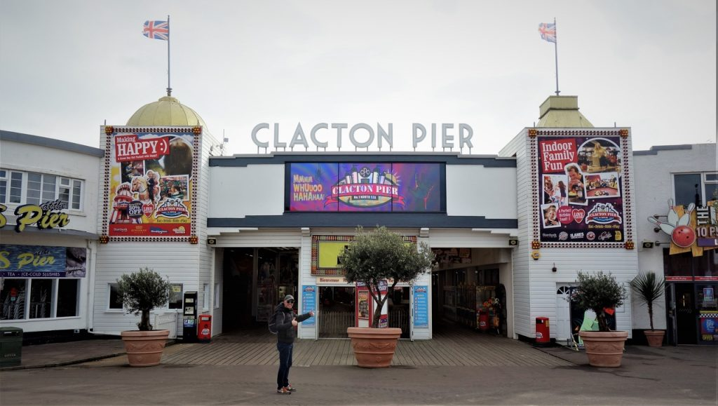 Coastal Road Trip, Clacton-on-Sea, Clacton Pier, Entrance, Jarno