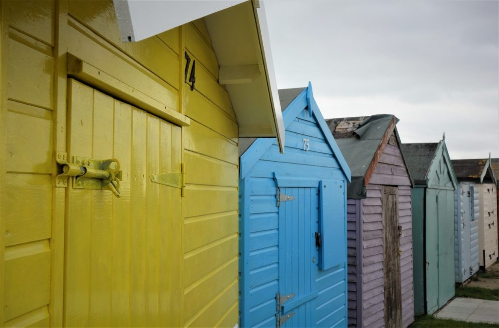 Coastal Road Trip, Brightlingsea, Beach Huts