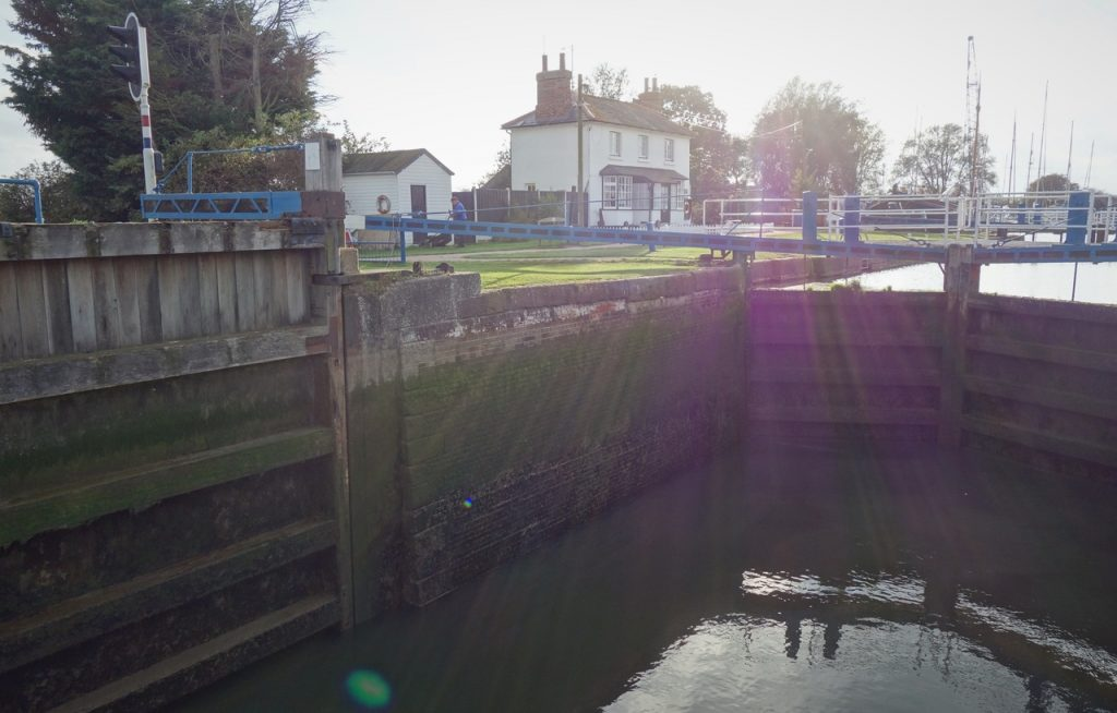 Coastal Road Trip, Heybridge, Heybridge Basin, Lock