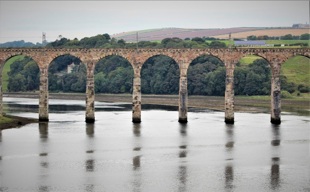 Coastal Road Trip, Berwick upon Tweed, Bridge, Royal Border Bridge, Railway