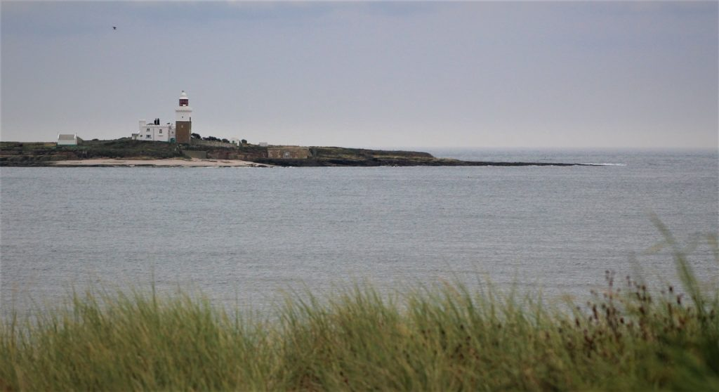 Coastal Road Trip, Amble Beach, Coquet Island Lighthouse