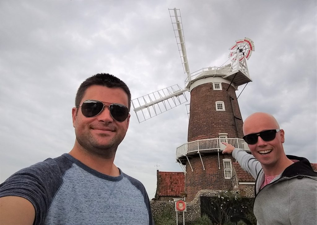 Coastal Road Trip, Cley next the Sea, Cley Windmill, Julian, Jarno