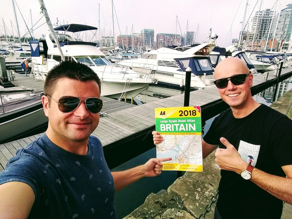 Coastal Road Trip, Ipswich Waterfront, Marina, Roadmap, Julian, Jarno