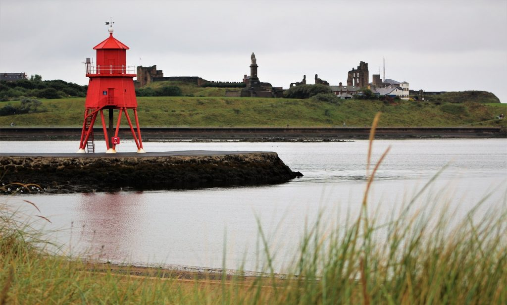 Coastal Road Trip, Littlehaven Beach and Promenade, South Shields, Lighthouse, Tynemouth Priory and Castle