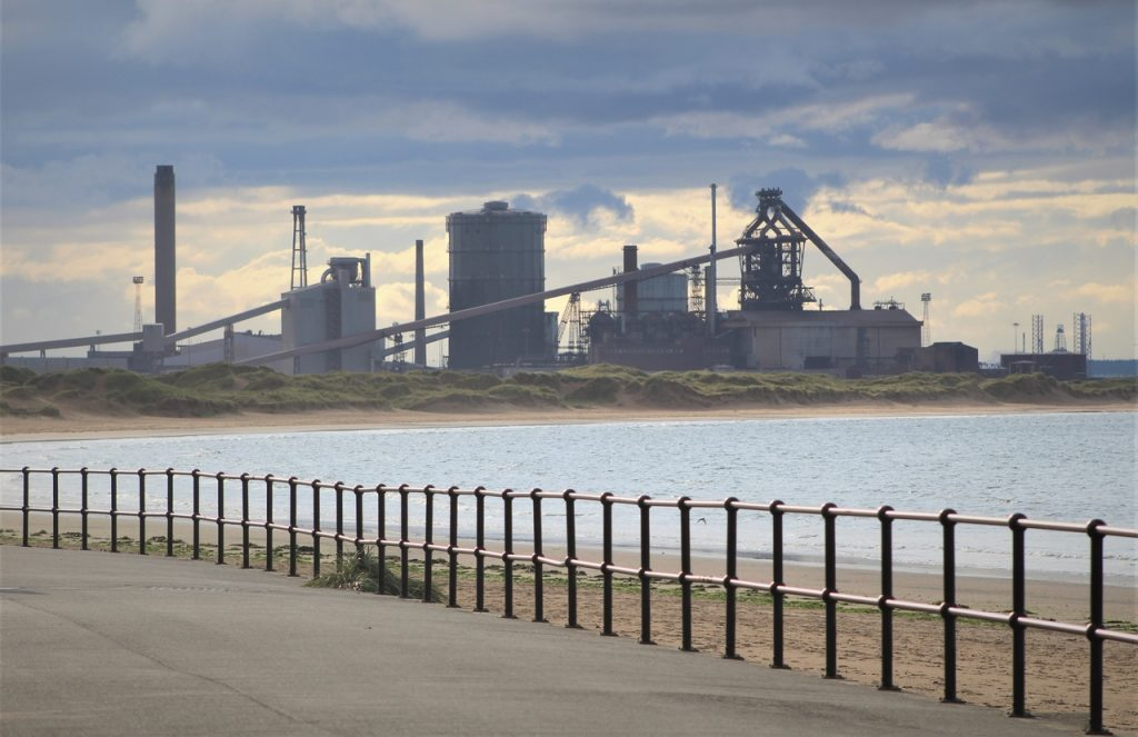 Coastal Road Trip, Redcar, Coke Ovens, River Tees, Mouth, Seaton Carew