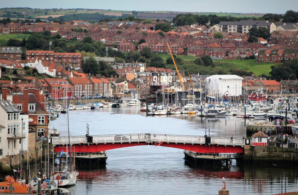 Coastal Road Trip, Whitby, Harbour, Bridge, River Esk