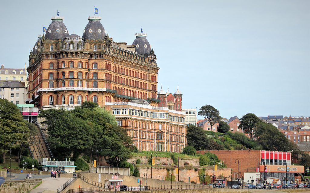 Coastal Road Trip, Scarborough, Sea Front, The Grand Hotel