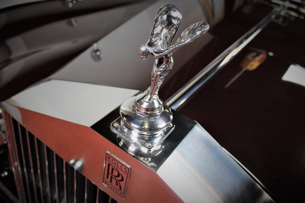 Coastal Road Trip, Sandringham, Rolls Royce, Queen's Car, The Spirit of Ecstasy, Flying Lady