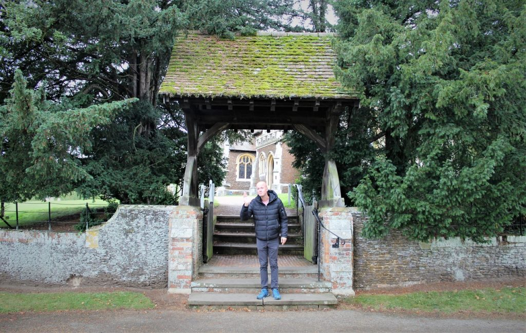 Coastal Road Trip, Sandringham, St Mary Magdalene's Church, Lychgate, Gate, Jarno