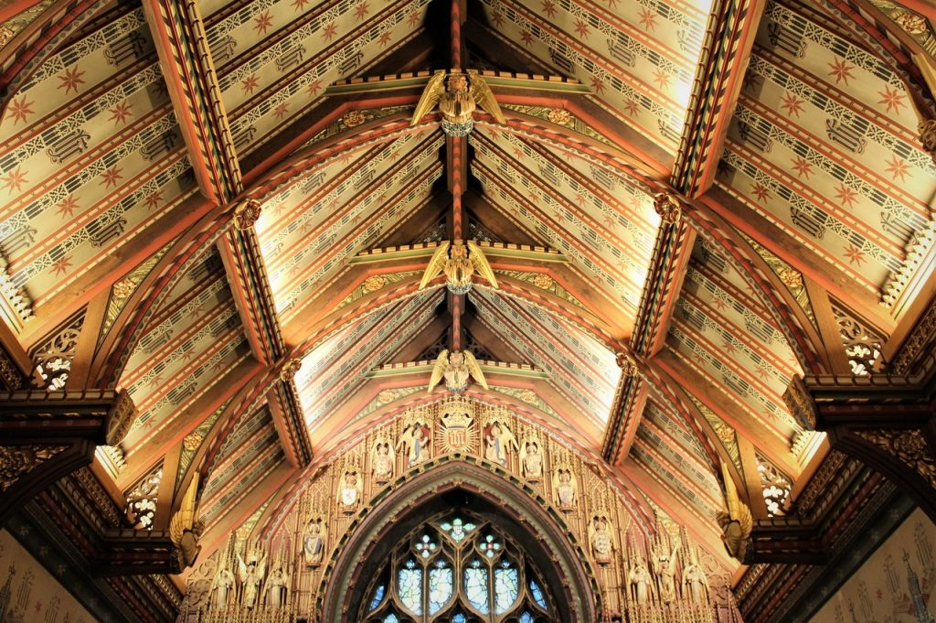 Coastal Road Trip, Sandringham, St Mary Magdalene's Church, Ceiling