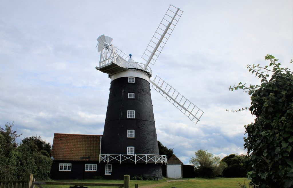 Coastal Road Trip, Burnham Overy Staithe, The Tower Windmill, National Trust
