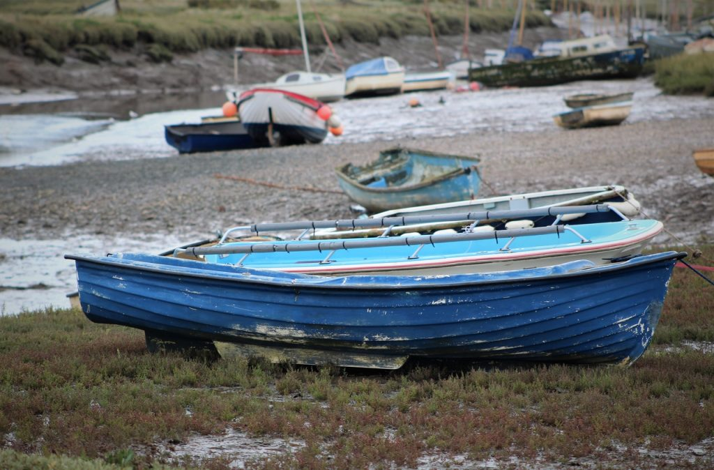 Coastal Road Trip, Blakeney, Blakeney National Nature Reserve, National Trust, Boats