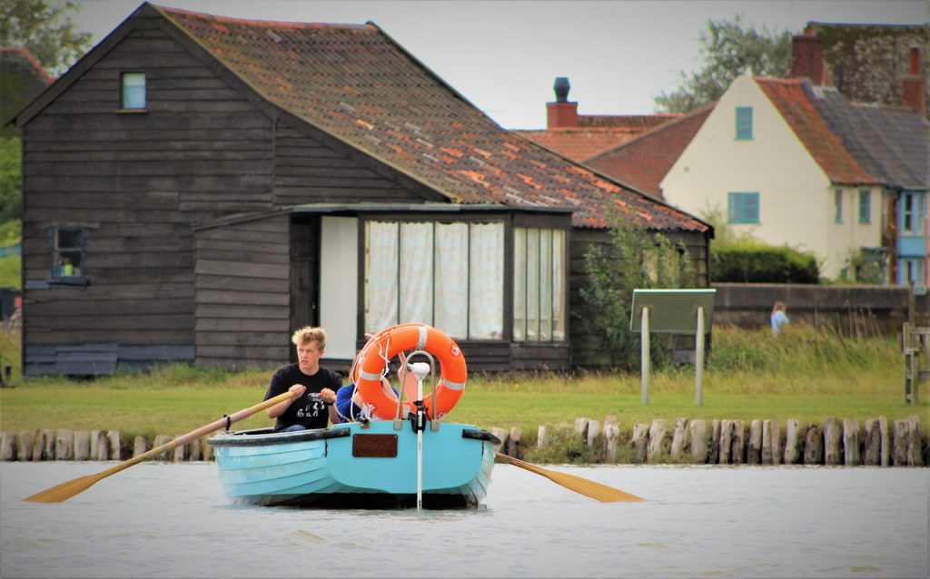 Coastal Road Trip, Southwold, Walberswick, River Blyth, Harbour, Ferry, Rowing Boat, Waveney, Suffolk