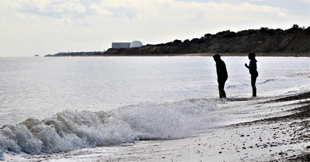 Coastal Road Trip, Dunwich Beach, Sizewell, Saxmundham