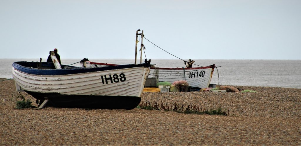 Coastal Road Trip, Aldeburgh, Beach, Boats