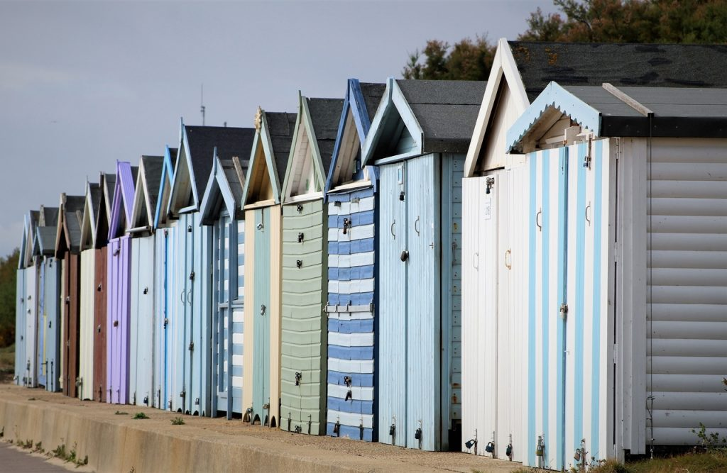 Coastal Road Trip, Holland-on-Sea, Holland Haven, Beach Huts