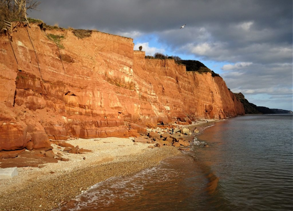 Coastal Road Trip, Sidmouth, Cliffs, Beach, S W Coast Path