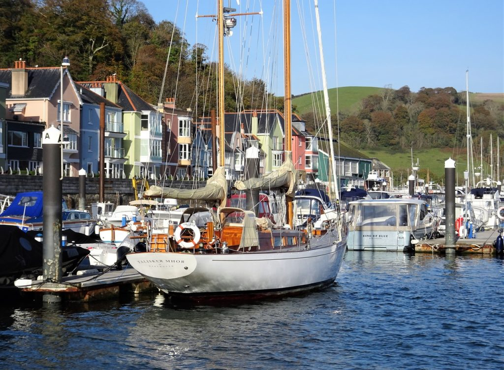 Coastal Road Trip, Dart Marina, Dartmouth, River Dart, Devon