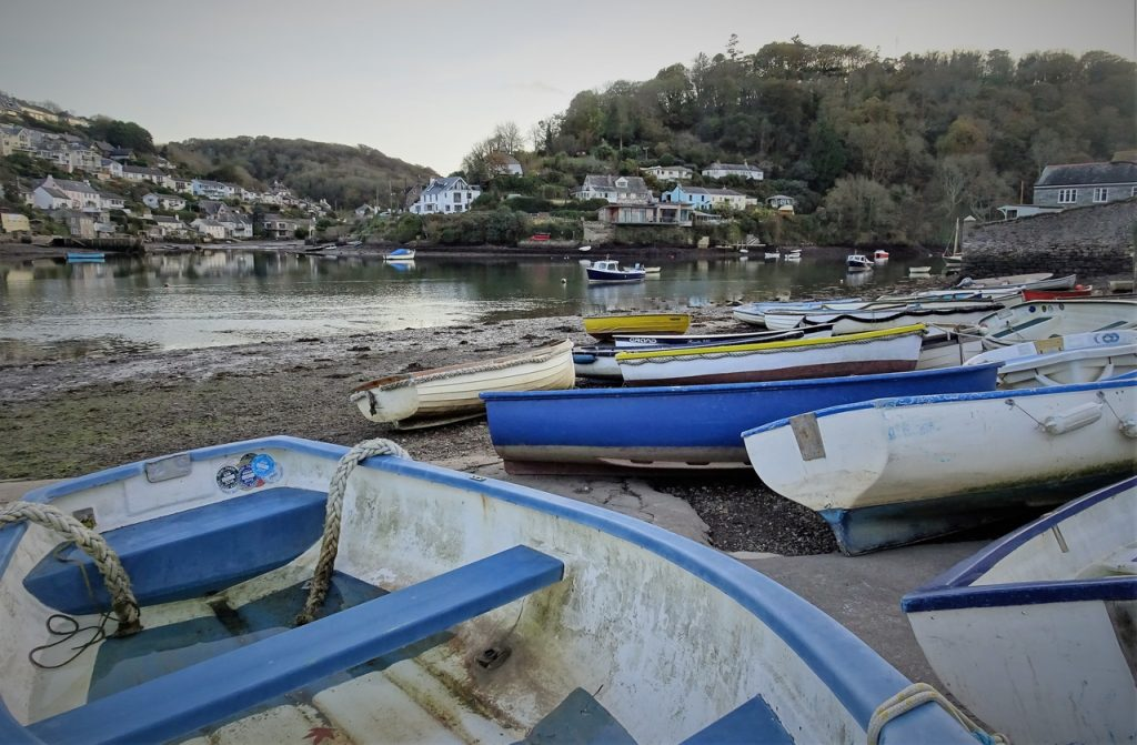 Coastal Road Trip, Newton Ferrers, Noss Mayo, Boats, Newton Creek, Dusk