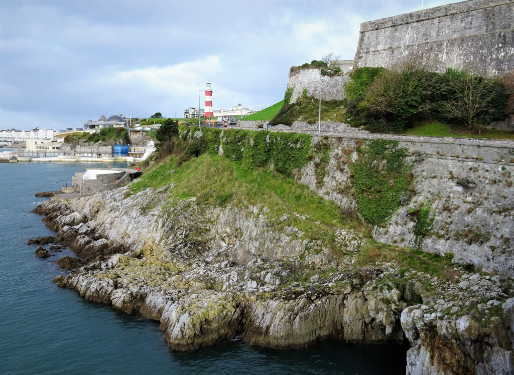 Coastal Road Trip, Plymouth, Hoe Promenade, Lighthouse, Royal Citadel,