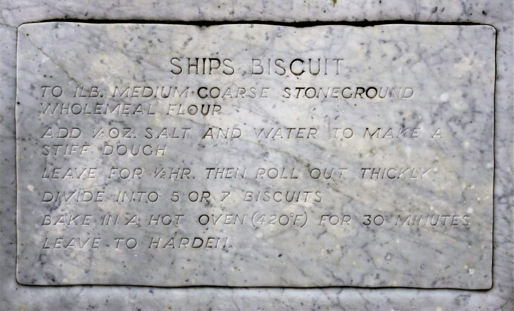 Coastal Road Trip, Plymouth, Royal William Yard, Ships Biscuit, Recipe, Monument