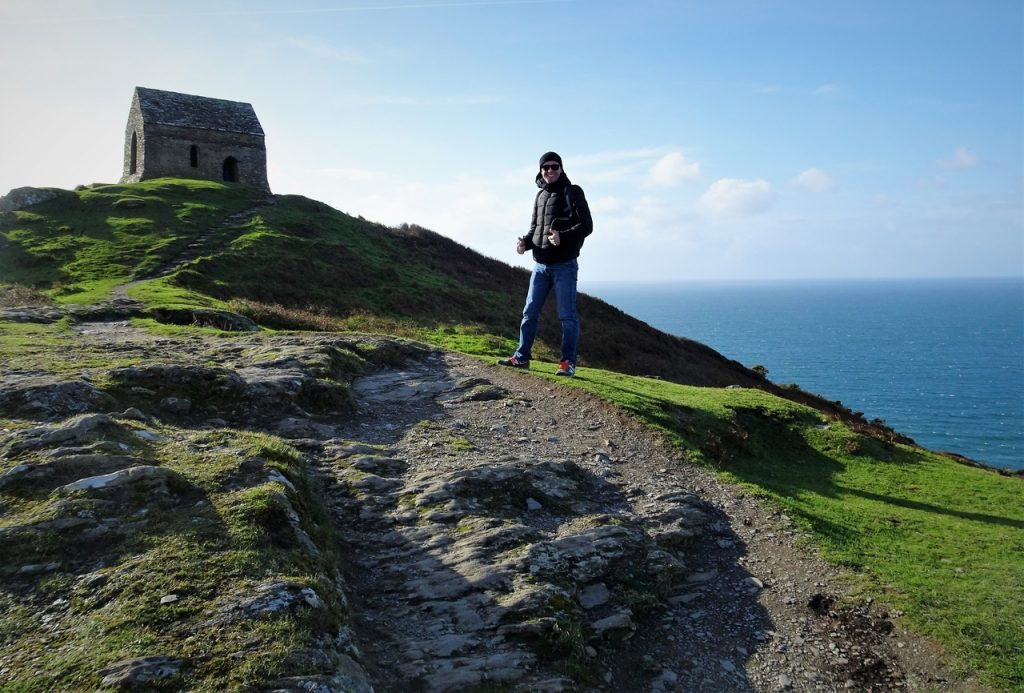 Coastal Road Trip, Rame Head, St Michael's Chapel, Jarno