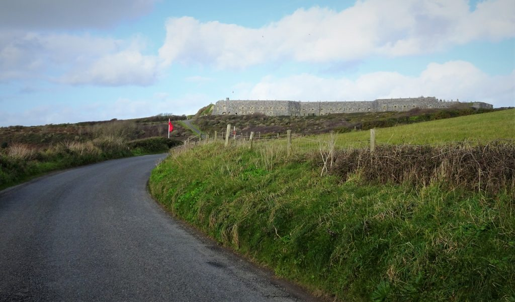 Coastal Road Trip, Tregantle Fort, Military Road, Freathy