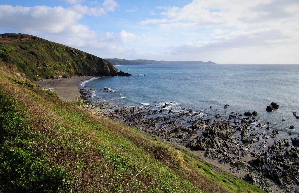 Coastal Road Trip, Portwrinkle, Beach, Whitsand Bay, Rame Head