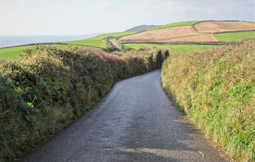 Coastal Road Trip, B3247, Road to Downderry