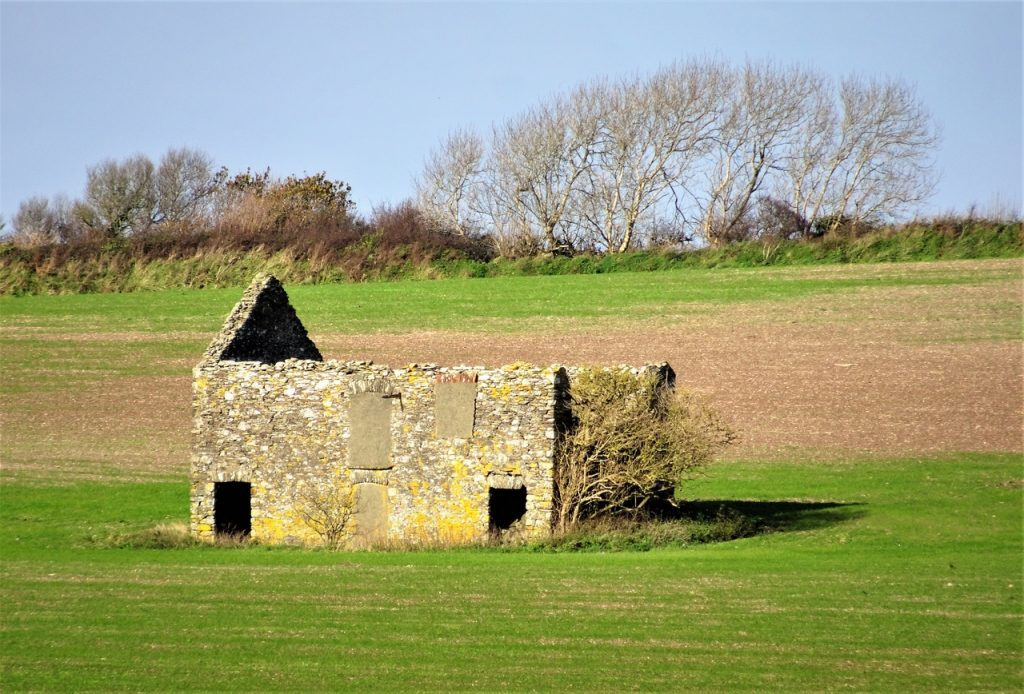 Coastal Road Trip, Abandoned Farm, B3247, Road to Downderry
