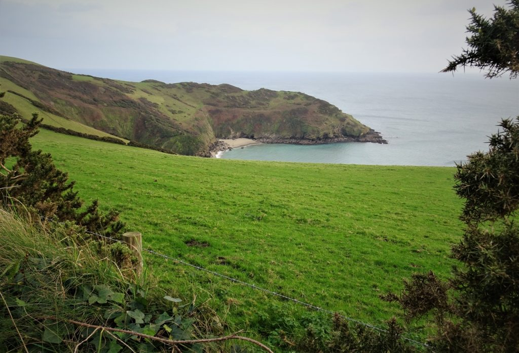 Coastal Road Trip, Lantic Bay, Cornwall, National Trust
