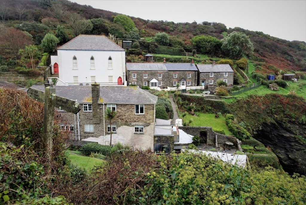 Coastal Road Trip, Portloe, Cottages, Cornwall