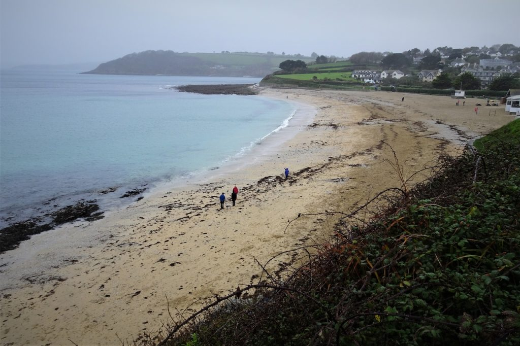 Coastal Road Trip, Gyllyngvase Beach, Falmouth Bay