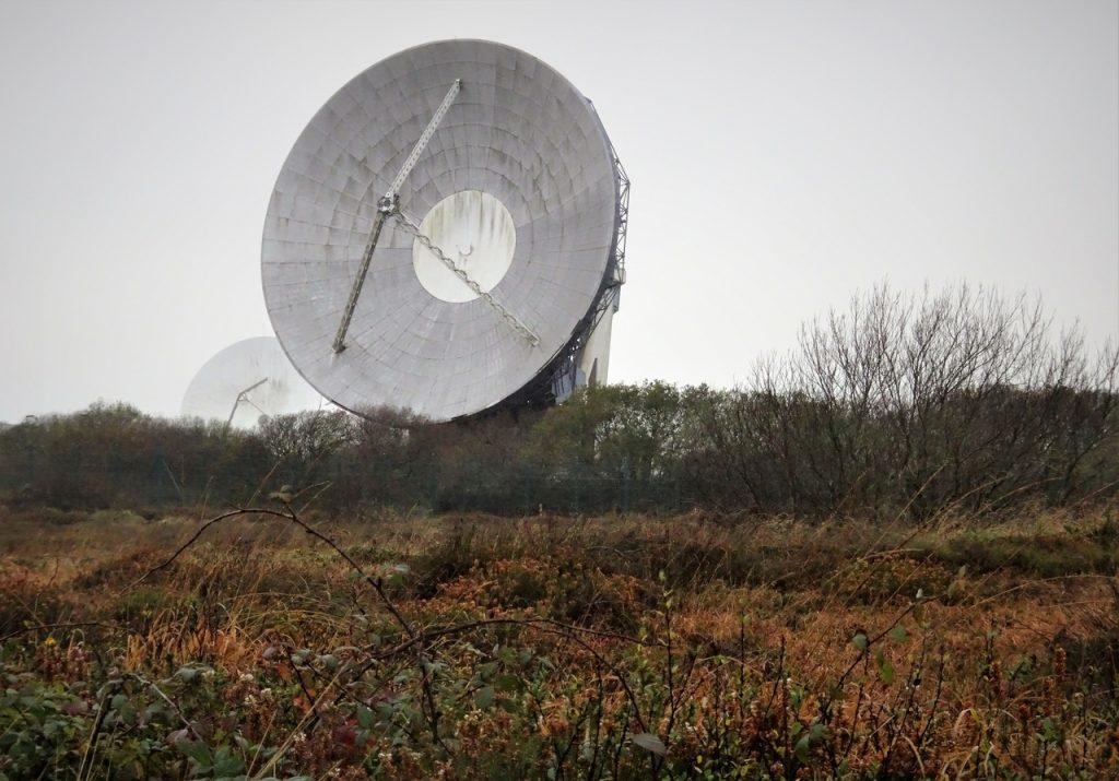 Coastal Road Trip, Goonhilly Earth Station, Satellite Dish, Goonhilly Downs National Nature Reserve