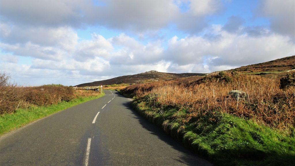 Coastal Road Trip, Carn Galver, B3306, Zennor