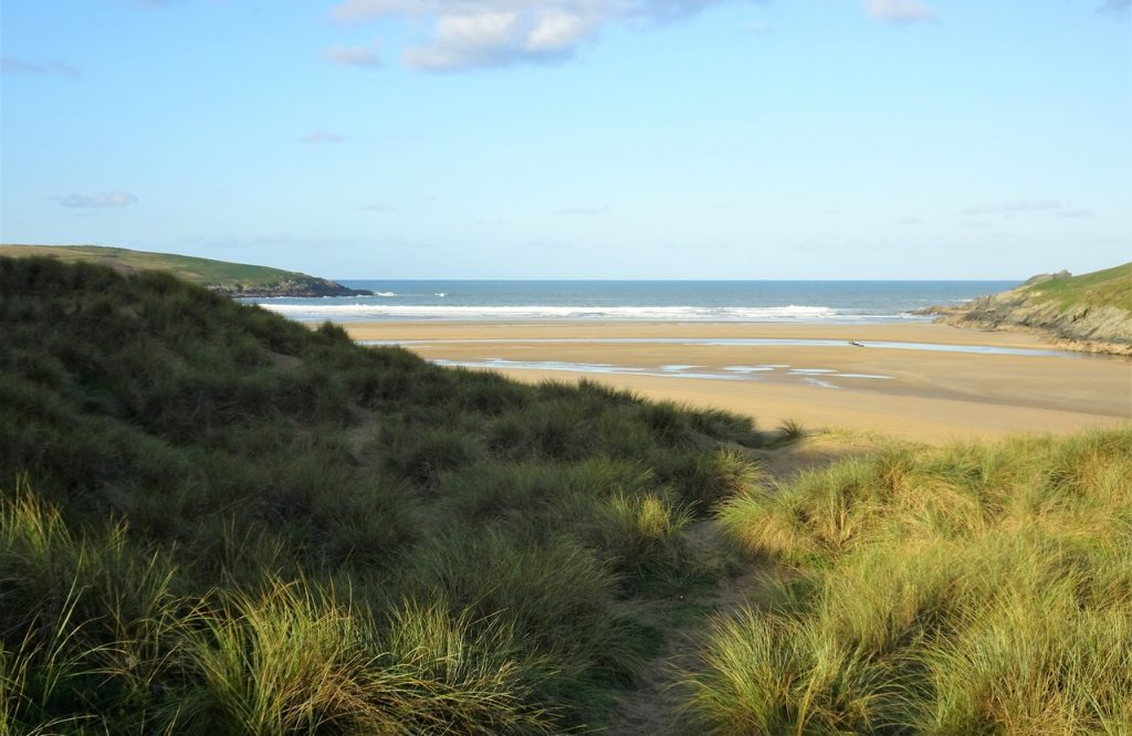 Coastal Road Trip, Crantock Beach, National Trust, Cornwall, Gannel estuary, Rushy Green