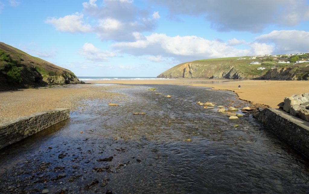 Coastal Road Trip, Mawgan Porth, River Menalhyl, Cornwall