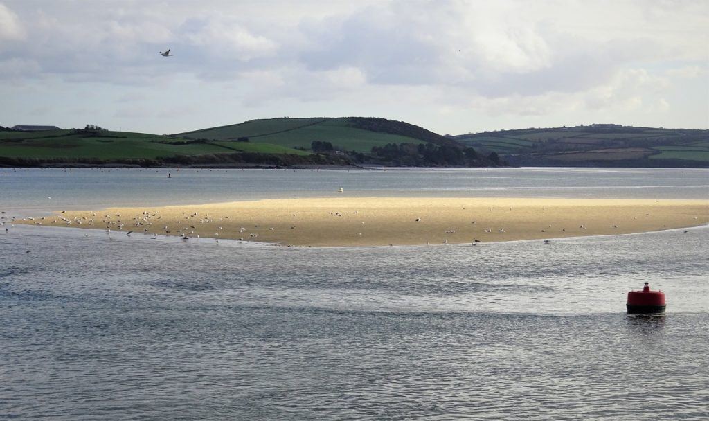Coastal Road Trip, Padstow, River Camel, Rock