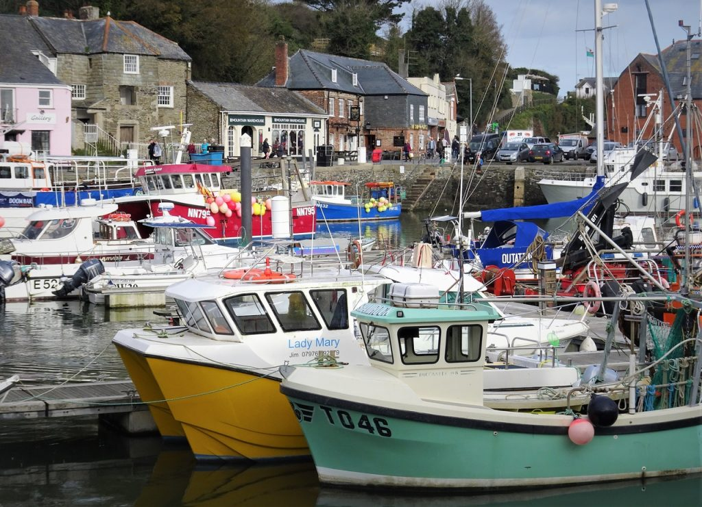 Coastal Road Trip, Padstow, Harbour, Fishing Port
