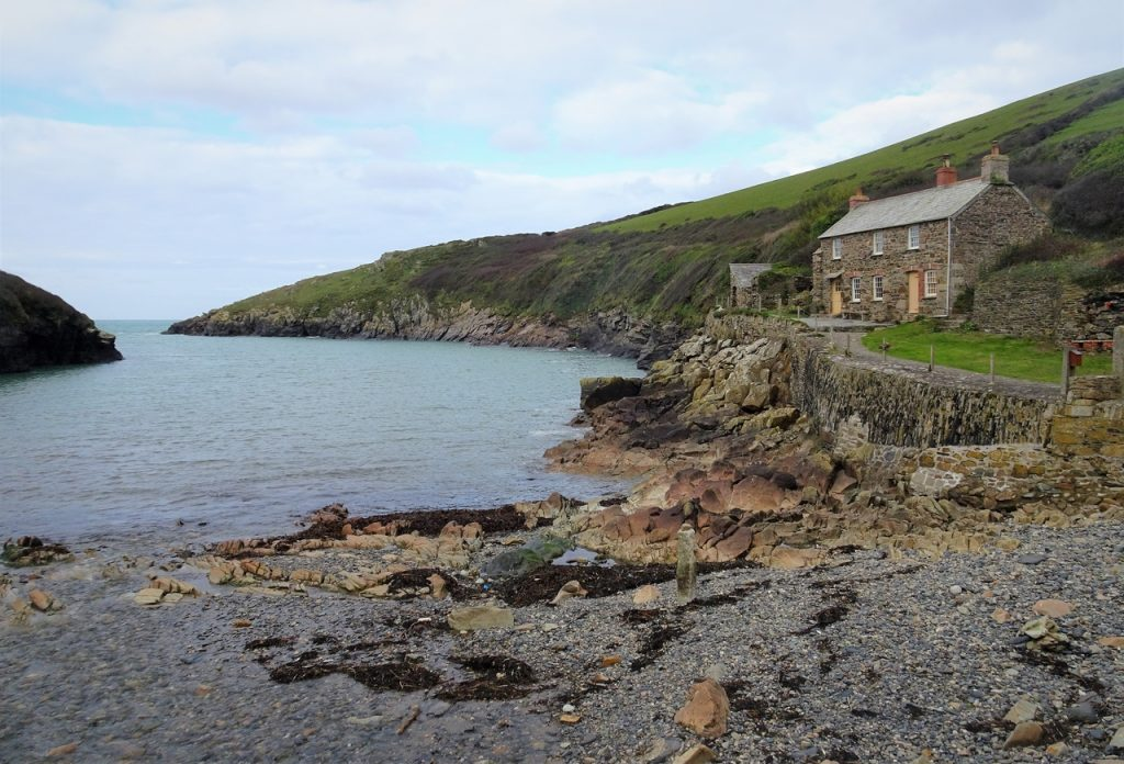 Coastal Road Trip, Port Quin, National Trust, Inlet, Cottage, Fishing Port, Cornwall