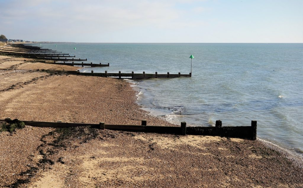 Coastal Road Trip, Shoeburyness, Gunners park, Shoebury East Beach