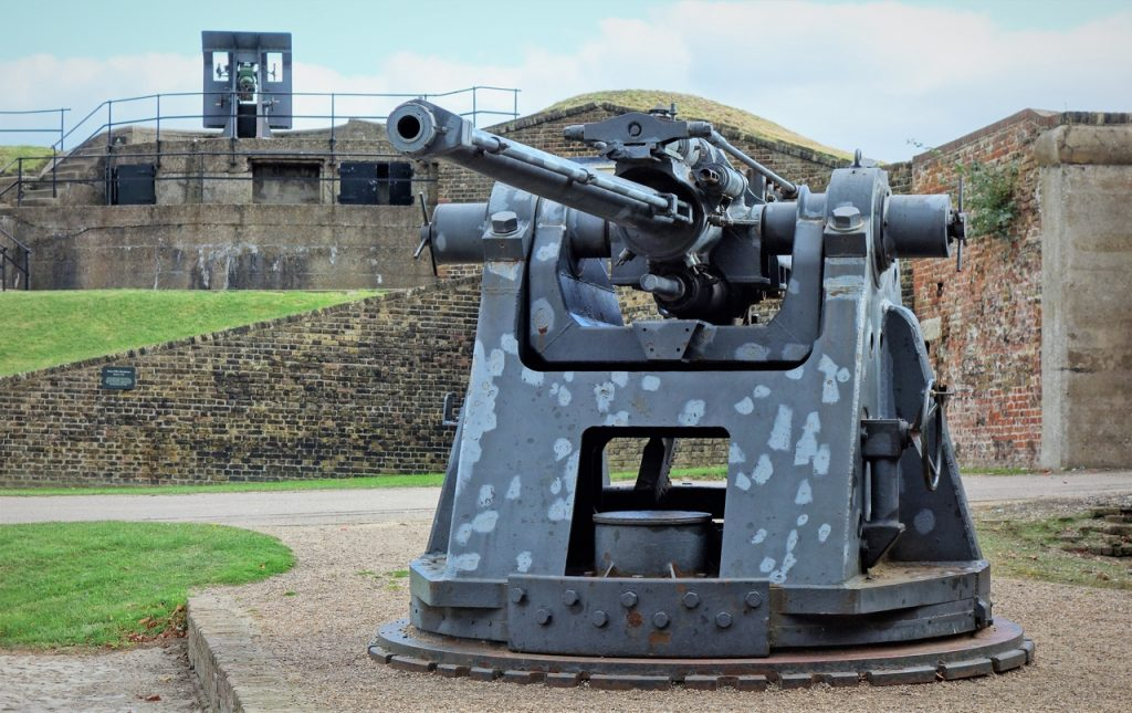 Coastal Road Trip, Tilbury, Tilbury Fort, Gun