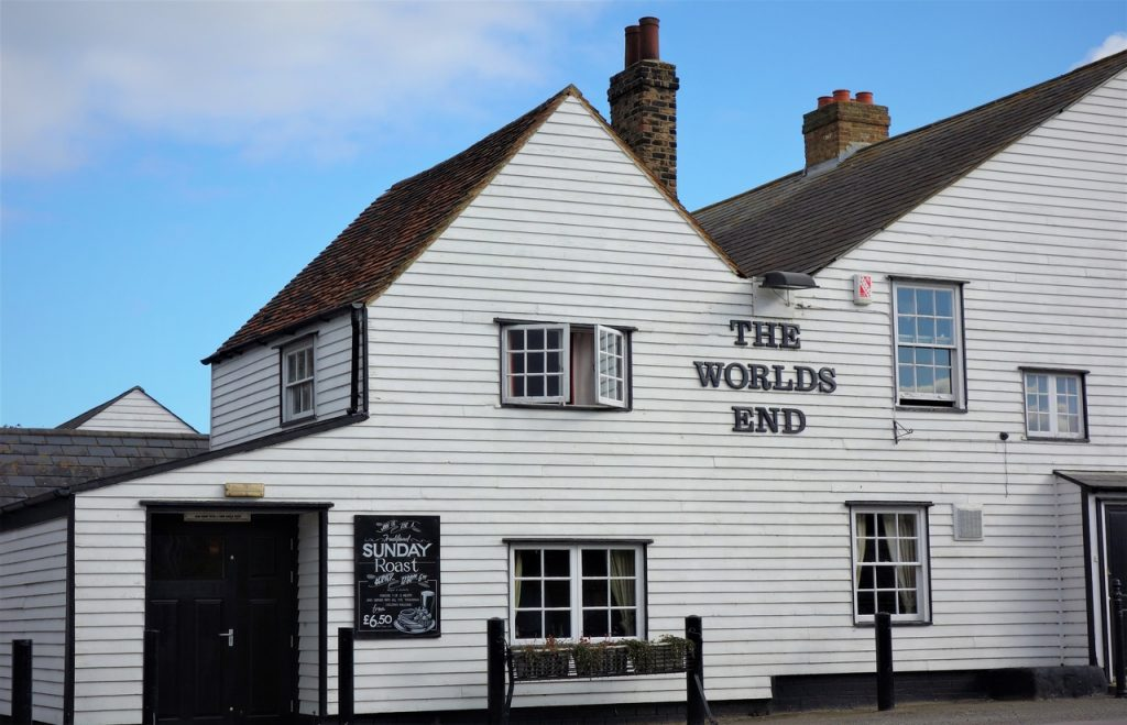 Coastal Road Trip, Tilbury, The Worlds End, Pub, Tilbury Fort
